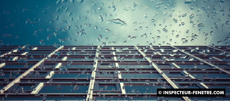 fenêtre batiment eau