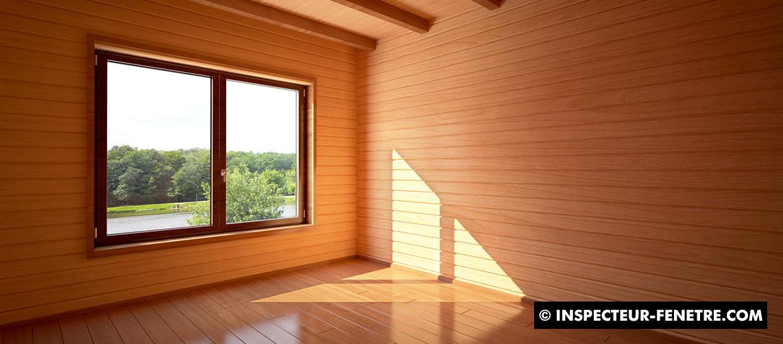 maison vide fenêtre lumière